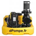 Station de Relevage Dab COMPLI 400E de 13 à 48 m3/h entre 6 et 1 m HMT Mono 230 V 1,1 kW - dPompe.fr