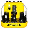 Station de Relevage Dab COMPLI 1225/4/BW de 13 à 56 m3/h entre 10 et 5 m HMT Tri 400 V 2,2 kW - dPompe.fr