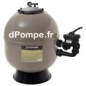 Filtre à Sable PRO SERIE-HL 760 Polyester Laminé 22,5 m3/h 150 kg de Sable 75 kg de Gravier - dPompe.fr