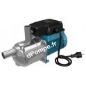Pompe de Surface Calpeda META L de 2 à 10 m3/h entre 57 et 20 m HMT Mono 230 V 1,1 kW