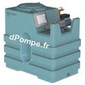 Récupérateur d'Eau de Pluie Calpeda KEP 1100 E-NGXM3-100 de 1 à 3,6 m3/h entre 39,4 et 21,7 m HMT Mono 230 V 0,65 kW - dPompe.fr