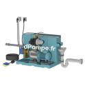Gestionnaire d'Eau de Pluie Calpeda GEP24 ID NGXM2-80 FB de 0,3 à 3,2 m3/h entre 43 et 19,1 m HMT Mono 230 V 0,55 kW - dPompe.fr