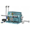 Gestionnaire d'Eau de Pluie Calpeda GEP24 E-NGXM2-80 FB de 0,3 à 3 m3/h entre 45,5 et 21,1 m HMT Mono 230 V 0,55 kW - dPompe.fr