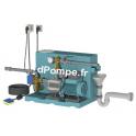 Gestionnaire d'Eau de Pluie Calpeda GEP24 META L FB de 2 à 10 m3/h entre 57 et 20 m HMT Mono 230 V 1,1 kW - dPompe.fr