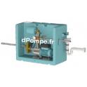Gestionnaire d'Eau de Pluie Calpeda GEP80 E-NGXM3-100 PZ de 0,3 à 3,2 m3/h entre 46 et 22,2 m HMT Mono 230 V 0,65 kW - dPompe.fr