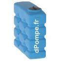 Cuve Aérienne Calpeda CP 800 pour Récupération Eaux de Pluie 800 Litres Trou d'Homme 300 mm