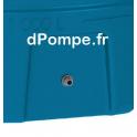 Passage de Paroi Monté en Partie Basse sur Cuve CP 1000 - dPompe.fr