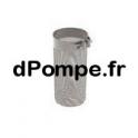 """Crépine d'Aspiration Calpeda C6 pour Chemise de Refroidissement 6"""" - dPompe.fr"""