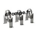 """Kit Fixation Horizontale KH6 GL pour Chemise de Refroidissement 6"""" Longueur Hydraulique > 1,5 m - dPompe.fr"""