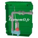 Poste de Relevage Calpeda CAL170 GQSM 40-9 de 1 à 5 m3/h entre 36,5 et 10,1 m HMT Mono 230 V 0,45 kW