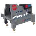 Kit Mobilité Roulettes pour Groupe Électrogène Pedrollo G-THOR - dPompe.fr