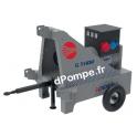 Kit Timon, Essieu et Roues pour Groupe Électrogène Pedrollo G-THOR - dPompe.fr