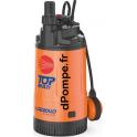 Pompe Immergée Pedrollo TOP MULTI 4 de 1,2 à 4,8 m3/h entre 46,5 et 8 m HMT Mono 220 230 V 0,75 kW - dPompe.fr