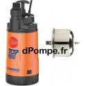 Pompe Immergée Pedrollo TOP MULTI-TECH 5 de 1,2 à 7,2 m3/h entre 38,5 et 6 m HMT Mono 220 230 V 0,75 kW avec Réservoir 1SF - dPo