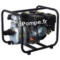 Motopompe Eau Claire Moyennement Chargée ACCESS J 36-50 Essence 36 m3/h max à 28 m HMT - dPompe.fr