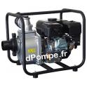 Motopompe Eau Claire Moyennement Chargée ACCESS J 60-75 Essence 60 m3/h max à 28 m HMT - dPompe.fr