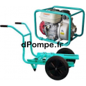 Motopompe Eau Claire Moyennement Chargée TP 36 H Brouette Essence 31,2 m3/h max à 32 m HMT - dPompe.fr