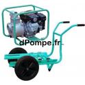 Motopompe Eau Claire Moyennement Chargée TP 65 EX Brouette Essence 60 m3/h max à 32 m HMT - dPompe.fr