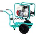 Motopompe Eau Claire Moyennement Chargée TP 65 H Brouette Essence 60 m3/h max à 32 m HMT - dPompe.fr