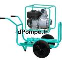 Motopompe Eau Claire Moyennement Chargée TP 110 EX Brouette Essence 90 m3/h max à 28 m HMT - dPompe.fr