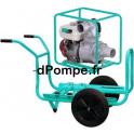 Motopompe Eau Claire Moyennement Chargée TP 110 H Brouette Essence 90 m3/h max à 28 m HMT - dPompe.fr