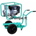 Motopompe Eau Chargée TH 63 EX Brouette Essence 60 m3/h max à 26 m HMT - dPompe.fr