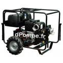 Motopompe Eau Très Chargée Travaux Intensifs SWT 150 HZ DXL45 Brouette Diesel 150 m3/h max à 32 m HMT - dPompe.fr