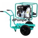 Motopompe Haute Pression JET 70 EX Brouette Essence 24 m3/h max à 50 m HMT - dPompe.fr