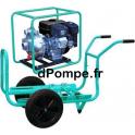 Motopompe Haute Pression JET 100 EX Brouette Essence 28,8 m3/h max à 95 m HMT - dPompe.fr
