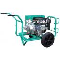 Motopompe Haute Pression JET 100 EX Incendie Essence 28,8 m3/h max à 95 m HMT - dPompe.fr