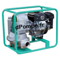 Motopompe Eau Très Chargée à Membrane MECA 8/15 EX Essence 7,5 m3/h max à 15 m HMT - dPompe.fr
