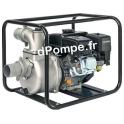Motopompe Airmec MSA 80 Essence de 3,6 à 30 m3/h entre 28 et 22 m HMT 6,5 cv - dPompe.fr