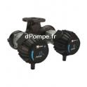 Circulateur Double Ebara Ego TC slim 50-40 Fonte de 6 à 24 m3/h entre 3,3 et 0,2 m HMT Mono 230 V 0,23 kW - dPompe.fr