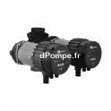 Circulateur Double Ebara Ego TC easy 32-120 Fonte de 1,2 à 10,8 m3/h entre 11 et 0,3 m HMT Mono 230 V 0,18 kW - dPompe.fr