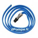 Amorce de Câble 2,5 m Bague Inox pour Moteur Franklin Ancien Modèle - dPompe.fr