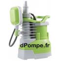 Pompe de Relevage Eau Claire Renson WECLEAN de 3,75 à 7,6 m3/h entre 6 et 2 m HMT Mono 230 V 0,4 kW - dPompe.fr