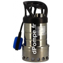 Pompe de Relevage Renson de 1 à 10,5 m3/h entre 7,2 et 1,7 m HMT Mono 230 V 0,6 kW - dPompe.fr