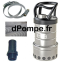 Pompe de Relevage Renson avec Accessoires de 1 à 10,5 m3/h entre 7,2 et 1,7 m HMT Mono 230 V 0,6 kW - dPompe.fr