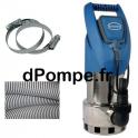 Pompe de Relevage Renson avec Accessoires de 1,2 à 12 m3/h entre 8,2 et 1,75 m HMT Mono 230 V 0,75 kW - dPompe.fr