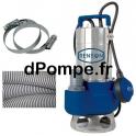 Pompe de Relevage Renson avec Accessoires de 3 à 15,6 m3/h entre 6 et 1,5 m HMT Mono 230 V 0,6 kW - dPompe.fr