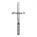 """Pompe Immergée 6"""" Salmson tout Inox IMMERSON IS6.18-22-B 5 à 27 m3/h entre 233 et 47 m HMT Tri 400 V 15 kW"""