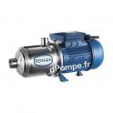 Pompe Multicellulaire Horizontale Renson de 2,4 à 10,2 m3/h entre 47,4 et 16,9 m HMT Mono 230 V 1,3 kW