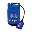 Pompe Vide Cave Renson de 0,6 à 6 m3/h entre 6,2 et 1,3 m HMT Mono 230 V 0,1 kW