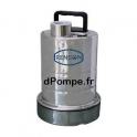 Pompe Serpillère Inox Renson de 1,5 à 9 m3/h entre 7,2 et 1 m HMT Mono 230 V 0,25 kW