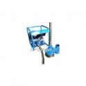 Motopompe à Cable Tsurumi PAC PSP3 - 5 Essence 78 m3/h à 18 m HMT