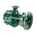 Pompe de Surface Caprari Arbre Nu MEC-MG80/2A à Bride 58 à 162 m3/h entre 136 et 103 m HMT à 2200 tr/mn