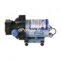 Pompe à Diaphragme Renson de 0,24 à 0,6 m3/h entre 23 et 2 m HMT 24 V