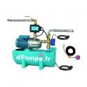 Récupérateur d'Eaux de Pluie Calpeda GEP MAT 16 de 0,3 à 5 m3/h entre 40 et 18 m HMT Mono 230 V 0,75 kW