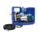Récupérateur d'Eaux de Pluie Calpeda GEP MAT 18V3 de 2 à 7 m3/h entre 40 et 15 m HMT Mono 230 V 0,55 kW avec Visualisation de St