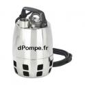 Pompe de Relevage Vortex Calpeda GXV 25-6 SG de 3 à 10,2 m3/h entre 5,2 et 1,5 m HMT Mono 230 V 0,25 kW